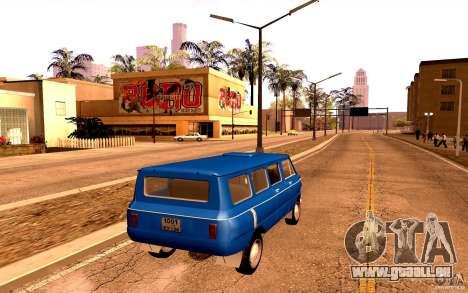 ZAZ 970 für GTA San Andreas obere Ansicht