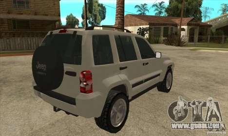 Jeep Liberty 2007 Final für GTA San Andreas rechten Ansicht