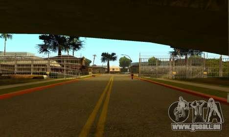 Zaun um den Groove-Sreet für GTA San Andreas zweiten Screenshot