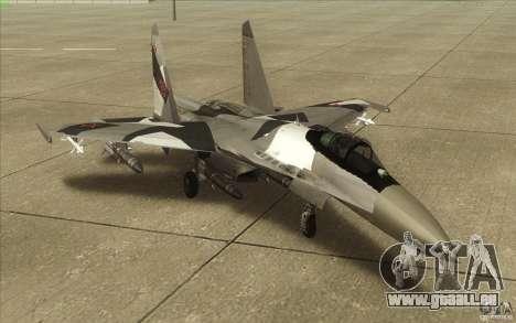 Su-35 BM v2. 0 für GTA San Andreas linke Ansicht