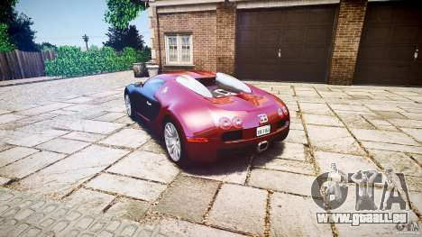 Bugatti Veyron 16.4 v3.0 2005 [EPM] Machiavelli pour GTA 4 Vue arrière de la gauche