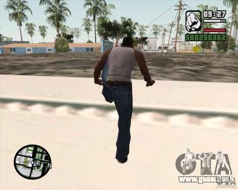 GTA 4 Anims for SAMP v2.0 pour GTA San Andreas neuvième écran