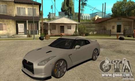 Nissan GT-R R35 2008 pour GTA San Andreas