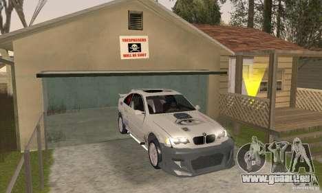 BMW M3 Hamman Street Race pour GTA San Andreas