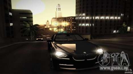 BMW 640i Coupe für GTA San Andreas Unteransicht