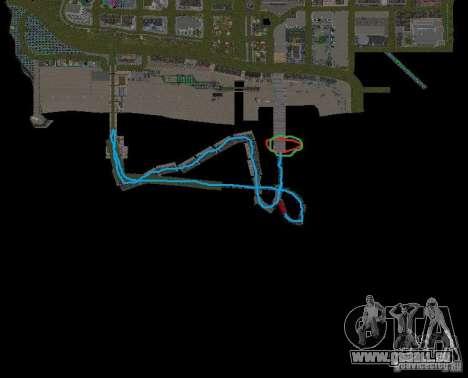 Night moto track V.2 für GTA San Andreas achten Screenshot