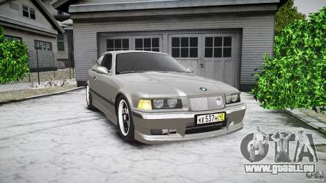 BMW E36 328i v2.0 für GTA 4 Innenansicht