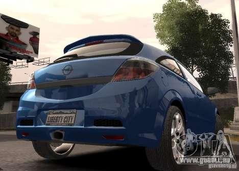 Opel Astra OPC pour GTA 4 est une gauche