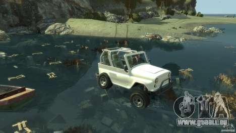4x4 Trail The Reef für GTA 4 Sekunden Bildschirm