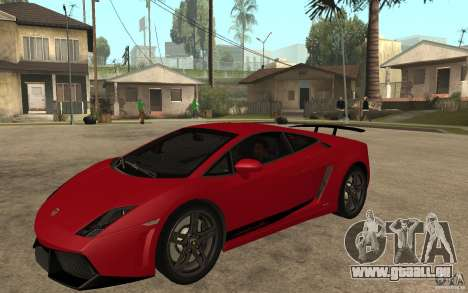 Lamborghini Gallardo LP 570 4 Superleggera pour GTA San Andreas