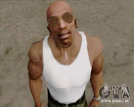 Braun brille Flieger für GTA San Andreas her Screenshot