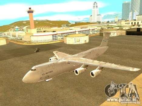 Lockheed C-5M Galaxy für GTA San Andreas