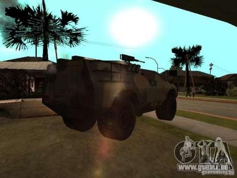 S. w. a. T aus Counter Strike Source für GTA San Andreas zurück linke Ansicht