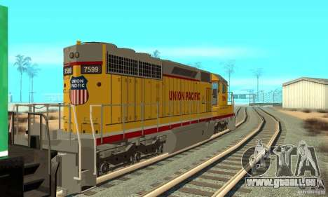 Locomotive SD 40 Union Pacific pour GTA San Andreas
