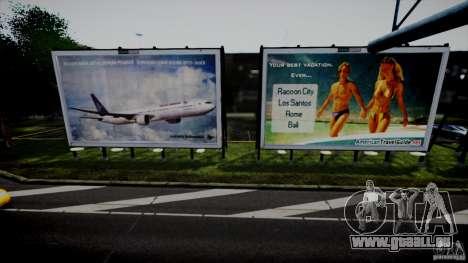 Realistic Airport Billboard für GTA 4 Sekunden Bildschirm
