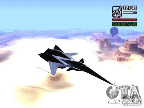 ADF01 Falken für GTA San Andreas Rückansicht