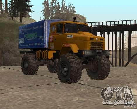 KrAZ Monster pour GTA San Andreas