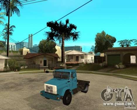ZIL-433362 Extra Pack 2 für GTA San Andreas zurück linke Ansicht