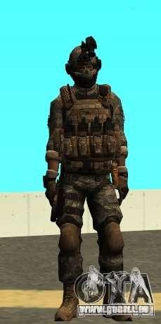 USA Army Special Forces (FIXED) pour GTA San Andreas deuxième écran