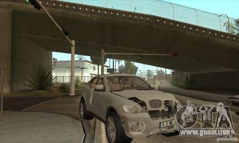 BMW X6 für GTA San Andreas Innenansicht