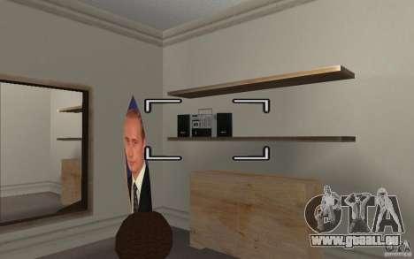 Détail de l'intérieur pour GTA San Andreas deuxième écran