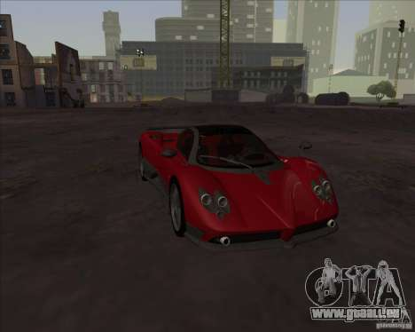 Pagani Zonda F pour GTA San Andreas