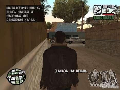 Niko Bellic für GTA San Andreas her Screenshot