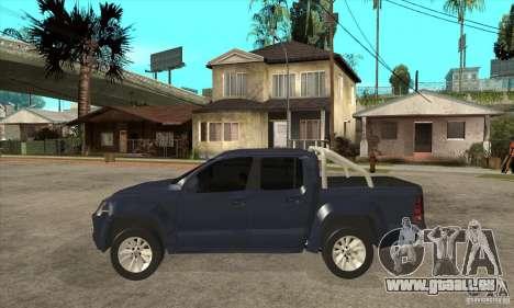 Volkswagen Amarok 2010 pour GTA San Andreas laissé vue