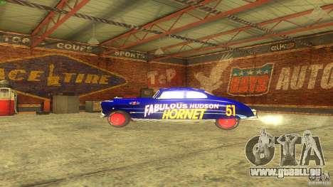 Hornet 51 für GTA San Andreas Innenansicht