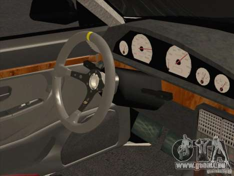 Audi 100 für GTA San Andreas Rückansicht