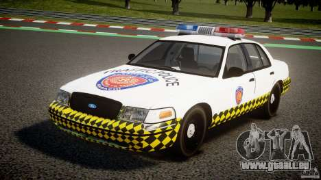 Ford Crown Victoria Karachi Traffic Police pour GTA 4
