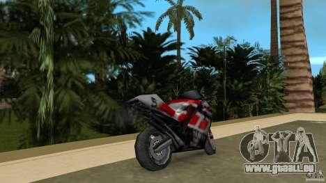 Yamaha YZR 500 pour GTA Vice City sur la vue arrière gauche