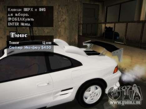 Toyota MR2 GT pour GTA San Andreas salon