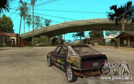 Citroen XM Custom pour GTA San Andreas sur la vue arrière gauche