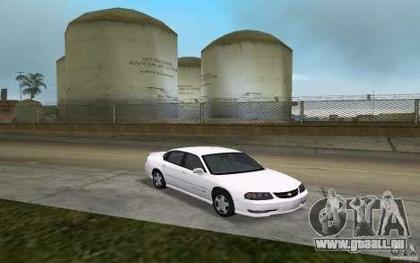 Chevrolet Impala SS 2003 für GTA Vice City Rückansicht
