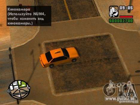Sand storm für GTA San Andreas her Screenshot