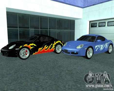 Porsche Cayman S pour GTA San Andreas