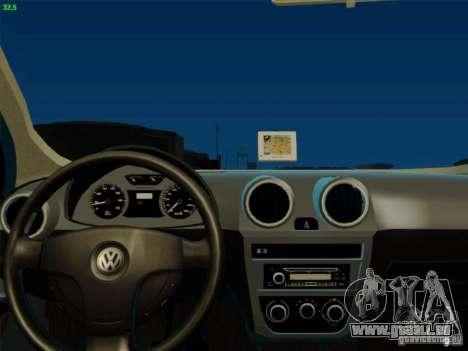 Volkswagen Voyage Comfortline 1.6 2009 für GTA San Andreas Rückansicht
