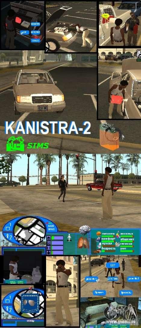 GTA SA SIMS real für GTA San Andreas