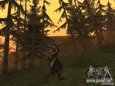 Connor From ACIII für GTA San Andreas dritten Screenshot