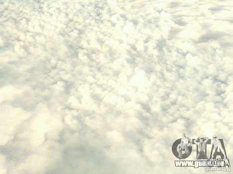 Nuage de HD pour GTA San Andreas troisième écran