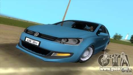 Volkswagen Polo 2011 pour GTA Vice City