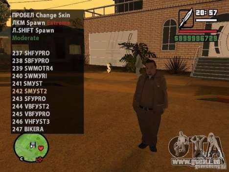 GTA IV peds to SA pack 100 peds pour GTA San Andreas douzième écran