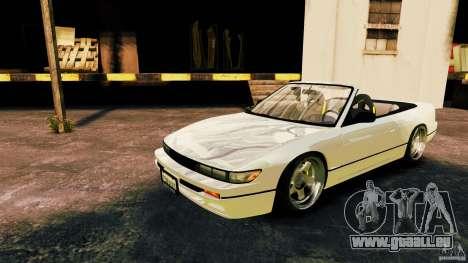 Nissan Silvia S13 Cabrio pour GTA 4 est une gauche