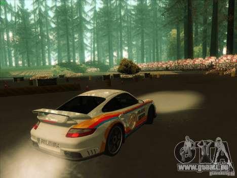 Porsche 997 GT2 Fullmode pour GTA San Andreas vue de droite