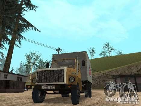 CR 3309 GAZ v2 pour GTA San Andreas vue de droite