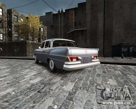 Mercedes-Benz W111 für GTA 4 linke Ansicht