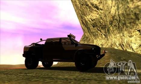 Dodge Ram All Terrain Carryer für GTA San Andreas rechten Ansicht