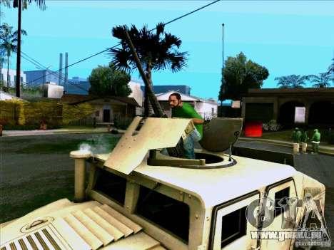Hummer H1 Irak für GTA San Andreas rechten Ansicht
