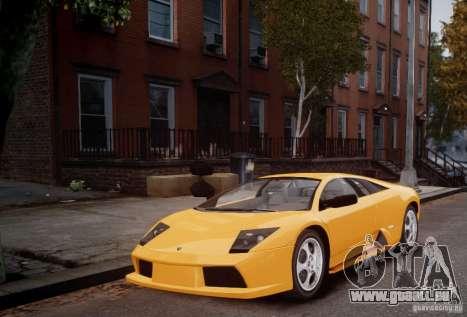 Lamborghini Murcielago für GTA 4 linke Ansicht